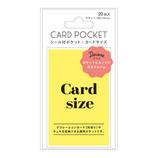 マークス(MARKS) シール付ポケット・カード用サイズ デコラ DCP−PPK02−A 20枚入