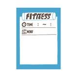 マークス(MARKS) ライフログ用 マスキングテープ MST-FA02-F フィットネス