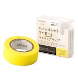 マークス(MARKS) maste 水性ペンで書けるマスキングテープ 小巻 MST‐FA04‐YE イエロー