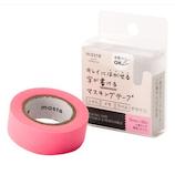 マークス(MARKS) 水性ペンで書けるマスキングテープ 小巻 MST‐FA04‐PK ピンク