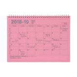【2018年4月始まり】 マークス(MARKS) ノートブックカレンダー・M ほぼB5 NB マンスリー 18SDR-NB1 ピンク 月曜始まり