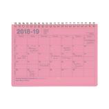 【2018年4月始まり】 マークス(MARKS) ノートブックカレンダー・S ほぼB6 NB マンスリー 18SDR-NB2 ピンク 月曜始まり