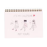 【2018年4月始まり】 マークス(MARKS) イラスト入りノートブックカレンダー・S ほぼB6 NB マンスリー 18SDR-NB4 A 月曜始まり
