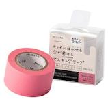 マークス(MARKS) maste 水性ペンで書けるマスキングテープ 小巻24mm幅 MST−FA05−PK ピンク