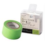 マークス(MARKS) maste 水性ペンで書けるマスキングテープ 小巻24mm幅 MST‐FA05‐GN グリーン