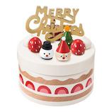 【クリスマス】 マークス(MARKS) ケーキ小物入れ クリスマスケーキ TOY-TR30