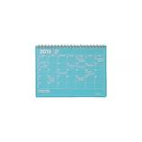 【2019年1月始まり】 マークス(MARKS) ノートブックカレンダー・S B6変型 NB マンスリー 19WDR-NB2 ブルー 月曜始まり