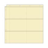 マークス(MARKS) バインダー式アルバム ポケットリフィル L判 BAL‐RFL02‐IV│アルバム・フォトフレーム アルバム台紙