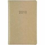 【2019年1月始まり】 博文館 ミニ手帳 ウィークリー 773 ベージュ 月曜始まり