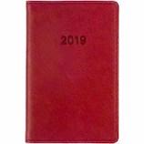 【2019年1月始まり】 博文館 ミニ手帳 ウィークリー 774 レッド 月曜始まり