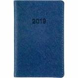 【2019年1月始まり】 博文館 ミニ手帳 ウィークリー 775 ブルー 月曜始まり