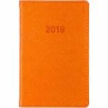 【2019年1月始まり】 博文館 ミニ手帳 ウィークリー 779 オレンジ 月曜始まり
