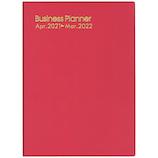【2021年4月始まり】 博文館 ビジネスプランナー B5 ウィークリー 4151 赤 月曜始まり│手帳・日記帳 ビジネス手帳