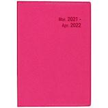 【2021年4月始まり】 博文館 SD−16Index プランナー A6 マンスリー 4786 ピンク 日曜始まり│手帳・日記帳 ビジネス手帳