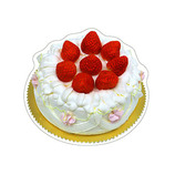 ピンナップ ダイカットポストカード DP02 ケーキ