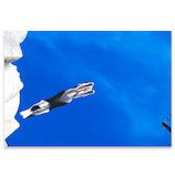 ピンナップ ポストカード 猫 地中海飛ぶ MW42