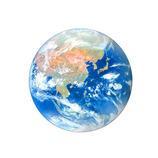 ピンナップ ダイカットポストカード 地球 DP18