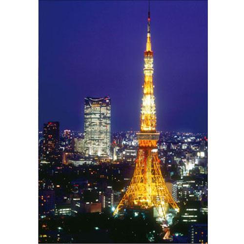 【クリックでお店のこの商品のページへ】ピンナップ ポストカード 東京タワー 六本木ヒルズ TY41