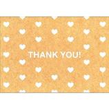 ピンナップ ポストカード GP562 ハートパターン THANK YOU!