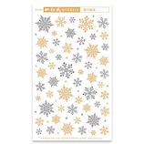 【クリスマス】 ピンナップ ステッカー 雪の結晶 ST733