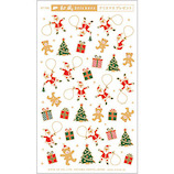 【クリスマス】ピンナップ 和風ステッカー クリスマスプレゼント ST735