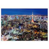 ピンナップ ポストカード 東京タワー 夜景 TY86│カード・ポストカード ポストカード(写真)