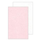 ピンナップ 名刺カード コットンペーパー CC60 ピンク×スノーホワイト 20枚入│カード・ポストカード ミニカード