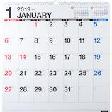【2019年版・壁掛】 高橋書店 E31 エコカレンダー壁掛 B2変型判