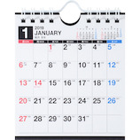 【2019年版・壁掛卓上兼用】 高橋書店 E161 エコカレンダー壁掛・卓上兼用 B7変型判