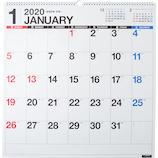 【2020年版・壁掛】高橋書店 E31 エコカレンダー壁掛 B2変型