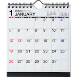 【2020年版・壁掛卓上兼用】高橋書店 E103 エコカレンダー A5変型