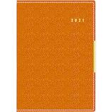 【2021年1月始まり】 高橋書店 No.214 リシェル 4 A6 ウィークリー オレンジ 月曜始まり