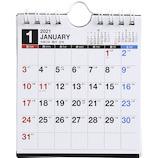 【2021年版・壁掛卓上兼用】 高橋書店 No.E161 エコカレンダー壁掛卓上兼用 B7変型
