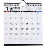 【2021年版・壁掛卓上兼用】 高橋書店 No.E156 エコカレンダー壁掛卓上兼用 B6変型