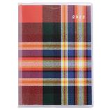 【2021年12月始まり】 高橋書店 プチクレール1 B7 マンスリー 371 チェック 日曜始まり