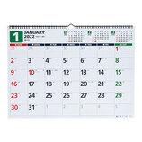 【2022年版・壁掛】 高橋書店 E55 エコカレンダー 壁掛 B3判│カレンダー 壁掛けカレンダー