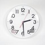 SEIKO 電波掛け時計 スタイリッシュデザイン KX301H│時計 壁掛け時計