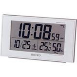 SEIKO 温湿計・快適表示付電波時計 SQ758W
