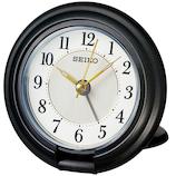 セイコー(SEIKO) 開閉式コンパクト目覚まし QQ637K ブラック│時計 目覚まし時計