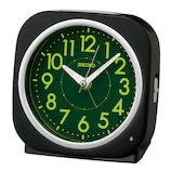 セイコー(SEIKO) 自動点灯目ざまし KR889K ブラック│時計 目覚まし時計