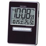 SEIKO トラベル電波時計 SQ699K ブラック│時計 電波時計