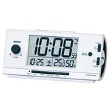ライデン 電波目ざまし時計 NR534W ホワイト