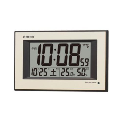 セイコー(SEIKO) 夜間自動点灯 電波掛時計 SQ438G