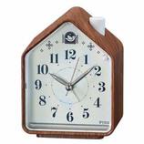 セイコー(SEIKO) ネイチャーサウンド音源(鳥の鳴き声) 目ざまし時計 NR444A