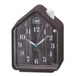 セイコー(SEIKO) ネイチャーサウンド音源(鳥の鳴き声) 目ざまし時計 NR444B