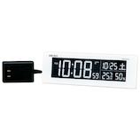 セイコー(SEIKO) チェンジカラー電波クロック DL305W│時計 目覚まし時計
