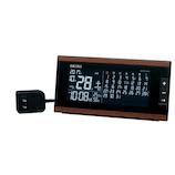 セイコー(SEIKO) 電波クロック 目覚まし時計 DL212B ブラウン│時計 電波時計