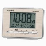 セイコー(SEIKO) 電波デジタル目覚まし時計 SQ785A ナチュラル