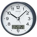 セイコー(SEIKO) アナログ電波クロック KR333N グレーメタリック│時計 目覚まし時計
