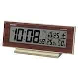 セイコー(SEIKO) 夜でも見える電波クロック SQ788B│時計 目覚まし時計